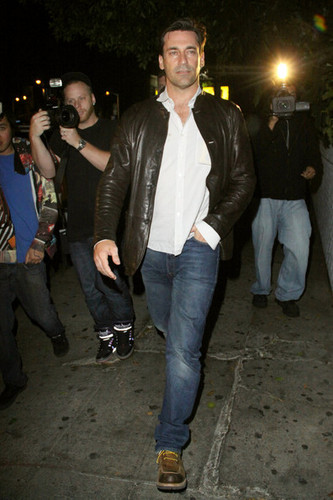 Jon Hamm Outside Chateau Marmont - jon-hamm Photo