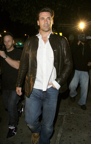 Jon Hamm images Jon Hamm Outside Chateau Marmont wallpaper and background photos