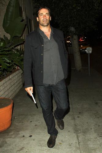 """Jon Hamm - premiere of """"Born Villain"""""""