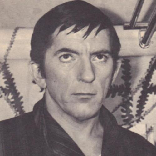 Dark Shadows wallpaper probably containing a business suit titled Jonathan Frid