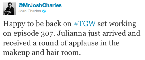 The Good Wife wallpaper called Josh Charles's Tweet