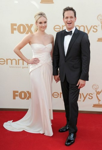 Josh & Sophie at the Emmys.