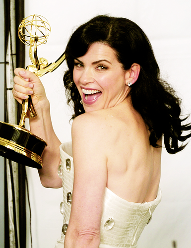 Julianna Margulies won Best Actress in a Drama series for The Good Wife at the Emmys