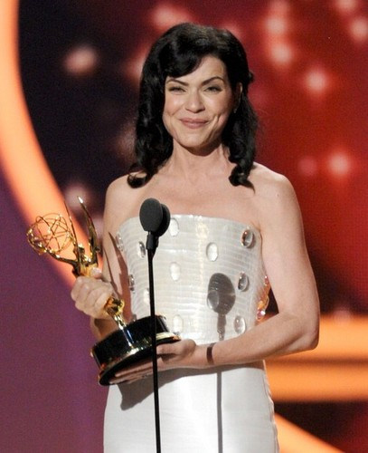 Julianna winning the Emmy for Best Actress in a Drama