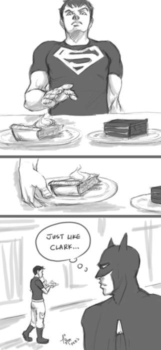 Just like Clark