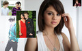 Justin and Selena - justin-bieber-and-selena-gomez wallpaper