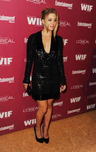 Kaley Cuoco @ 2011 Entertainment Weekly And Women In Film Pre-Emmy Party Sponsored By L'Oreal