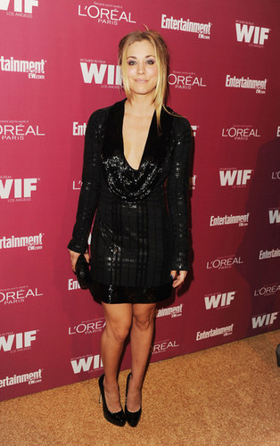 Kaley Cuoco @ 2011 Entertainment Weekly And Women In Film Pre-Emmy Party Sponsored oleh L'Oreal