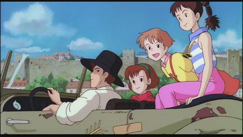 Hayao Miyazaki fondo de pantalla possibly with anime called Kiki's Delivery Service