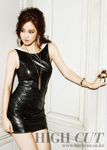 Kim Tae Hee for High Cut magazine
