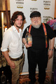 Kit Harington & GRRM @ HBO Luxury Lounge - game-of-thrones photo