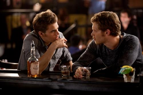 "Klaus and Stefan in ""The Hybrid"""