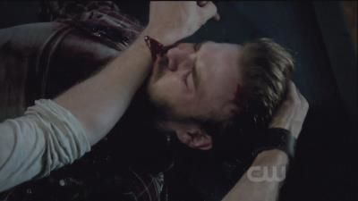 Klaus feeding Ray his blood! - klaus-and-stefan Photo