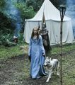 Lady and Sansa Stark - game-of-thrones-direwolves photo