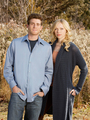 Laura & Bryan Greenberg in October Road [HQ] - laura-prepon photo