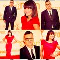 Lea & Mark 2011 Emmys