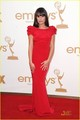 Lea Michele - Emmys 2011 Red Carpet