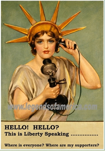 Liberty Calling 你