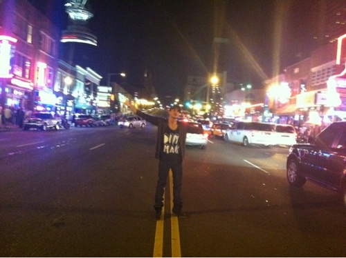 Michael Trevino in Nashville