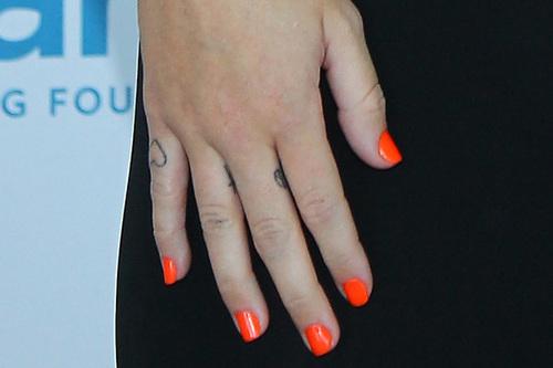Miley タトゥー