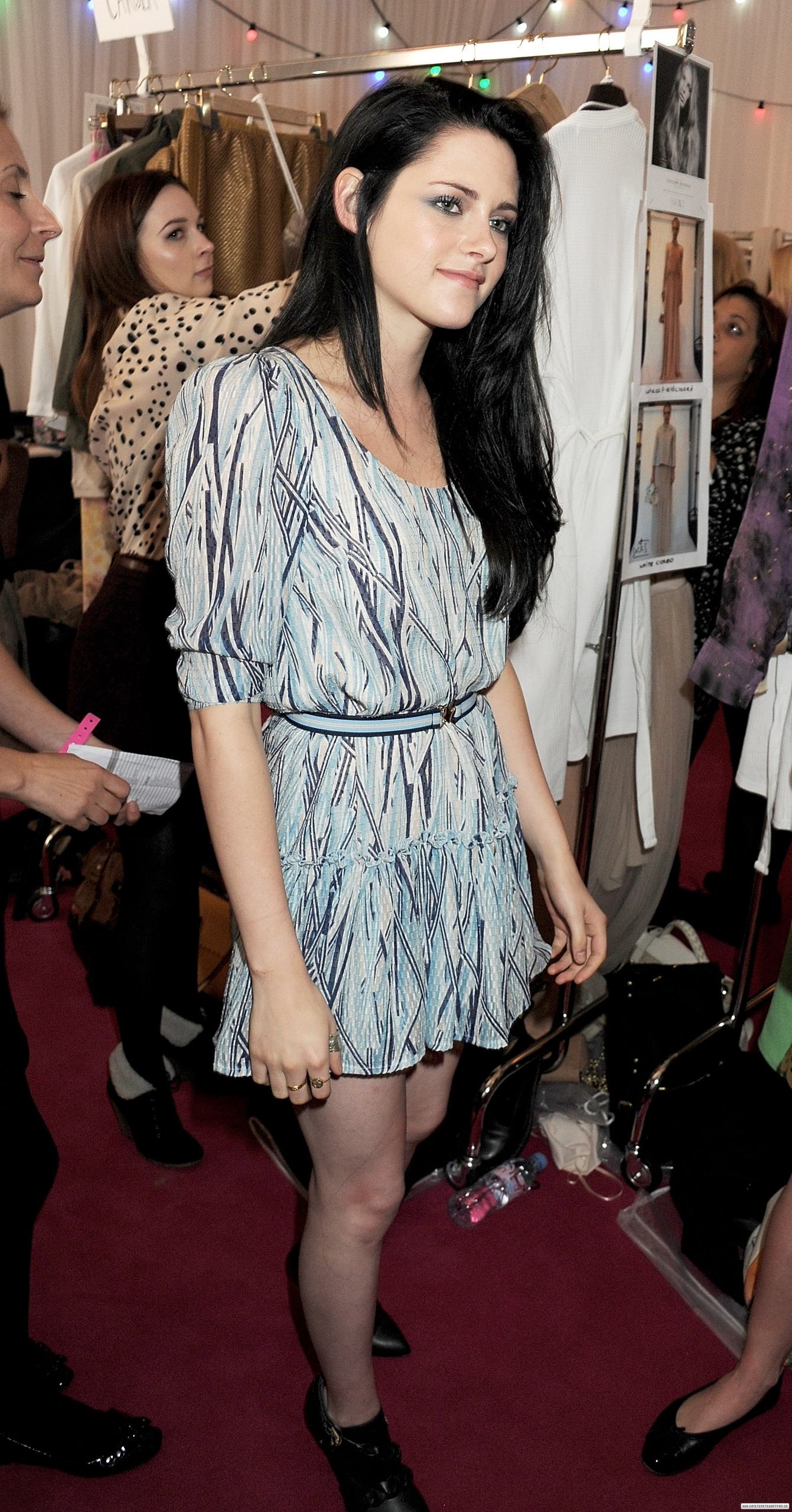 Mulberry Spring Summer Fashion Show In London Uk September 18 2011 Kristen Stewart Photo