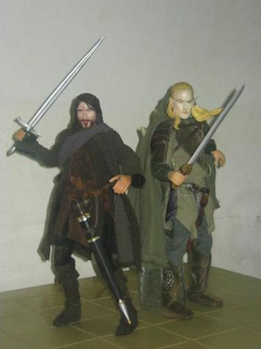 My Lord of the Rings 12 inch figure Collection.
