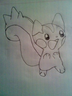 My drawing Pachirisu