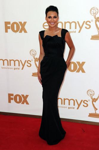 Naya at the Emmy Awards 2011