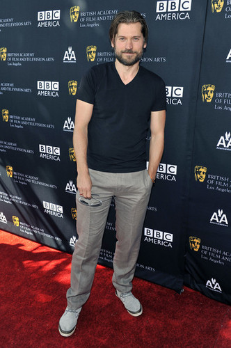 Nikolaj Coster-Waldau @ 9th annual BAFTA teh party
