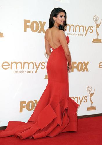 Nina at the 63rd Emmy Awards