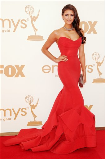 Nina at the 63rd emmy awards - nina-dobrev photo