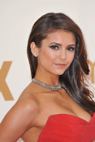 Nina at the 63rd emmy awards