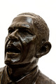 Obama Bronze Sculpture  - barack-obama photo