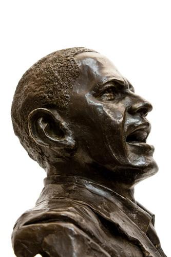 Obama Bronze Sculpture