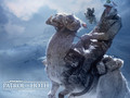 luke-skywalker - Patrol on Hoth wallpaper