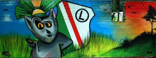Penguins Graffiti again! <3