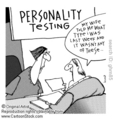 Personality Test Cartoon 哈哈