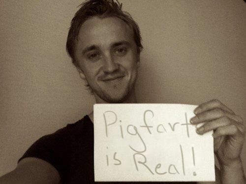 Pigfarts is real.