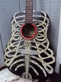 Rib Cage Acoustic Guitar - guitar photo