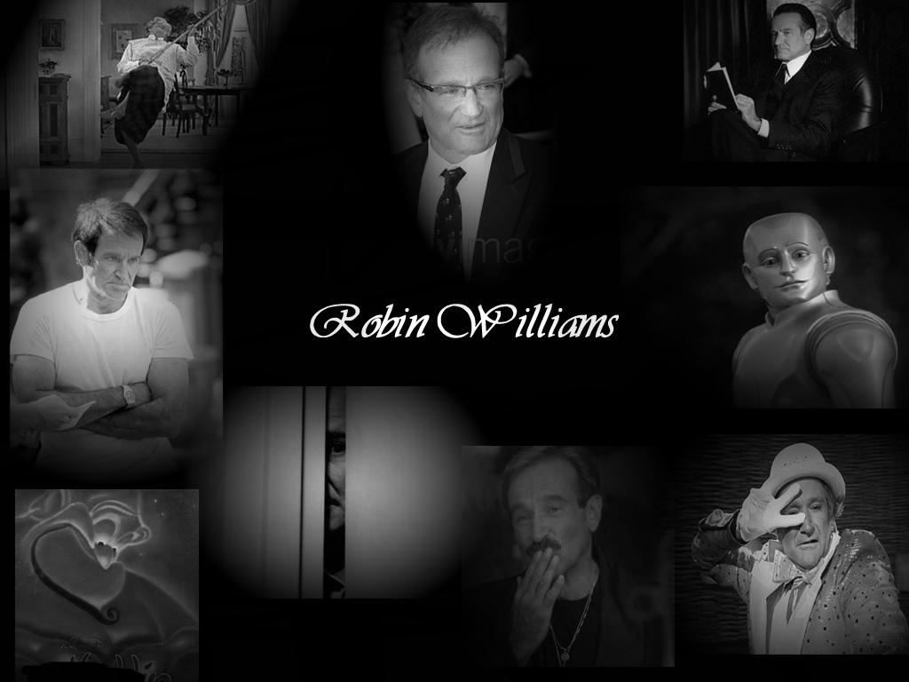 robin williams collage