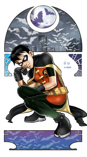 Young Justice wallpaper possibly containing Anime entitled Robin