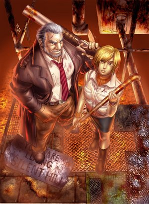 Silent Hill wallpaper possibly with a breastplate entitled SH_fan_art