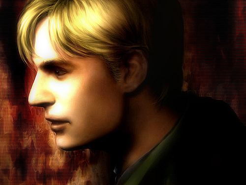 Silent Hill wallpaper probably with a portrait titled SH_fan_art