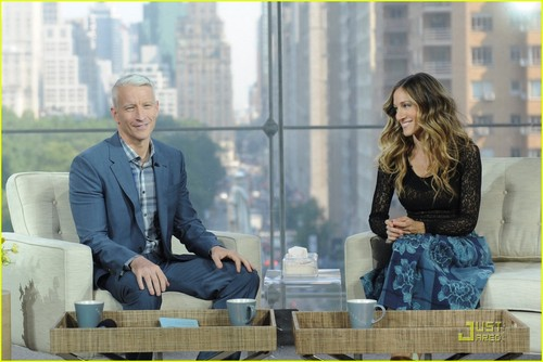 Sarah Jessica Parker Talks About Kids with Anderson Cooper