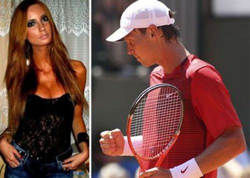 Satorova and Berdych - youtube Photo