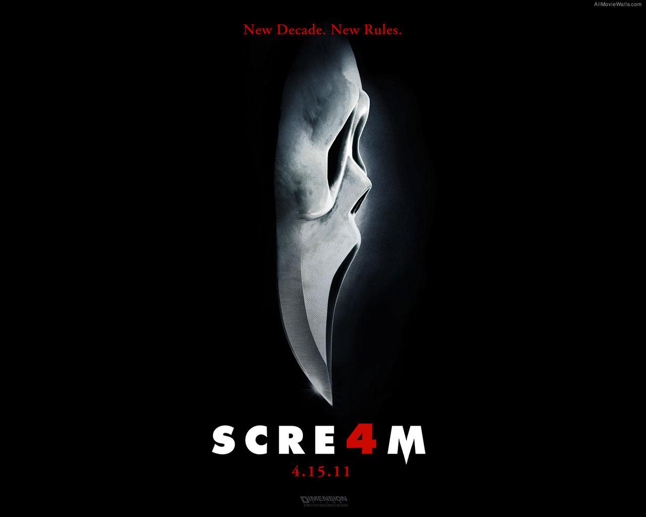 scream 4 scream wallpaper 25400879 fanpop
