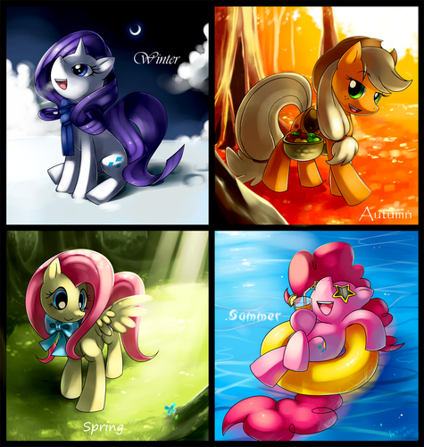 Season Ponies - my-little-pony-friendship-is-magic Fan Art