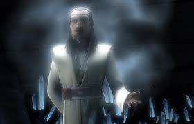 Shmi Skywalker and Qui-gon Jinn