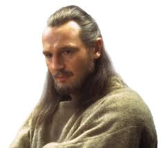 Shmi Skywalker and Qui-gon Jinn