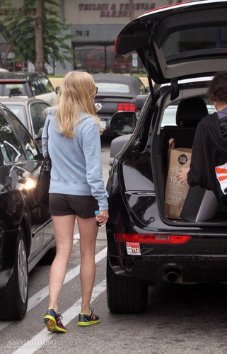 Shopping at Whole Foods in LA; 16th September 2011